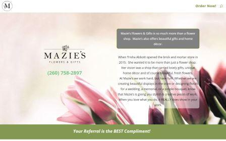 maziesflowers.com